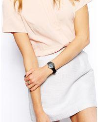 Oasis - Black Gloss Bracelet Watch - Lyst