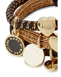 Marc By Marc Jacobs - Metallic Classic Set Of Three Hair Bands - Lyst