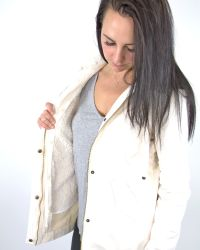 Marrakech - Natural Jillian Shearling Anorak - Lyst
