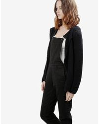 Wool And The Gang | Black Jolie Mimi Cardigan | Lyst