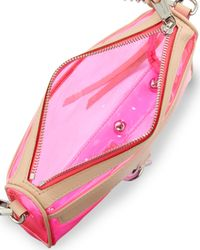 Rebecca Minkoff | Multicolor Mini Mac Pvcleather Crossbody Bag Pink | Lyst