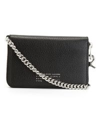 Marc By Marc Jacobs - Black Chain Handle Wallet - Lyst