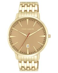 Vince Camuto - Metallic Round Bracelet Watch for Men - Lyst