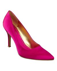 Nine West - Pink Flax Pointy Toe Pump - Lyst