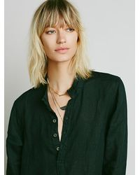 Free People - Green Jasmine Dress - Lyst