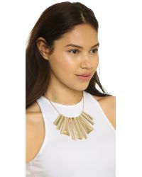 Adia Kibur | Metallic Amanda Necklace - Gold | Lyst