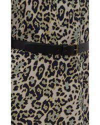 Derek Lam - Multicolor Halter-neck Floral-print Silk Chiffon Gown - Lyst