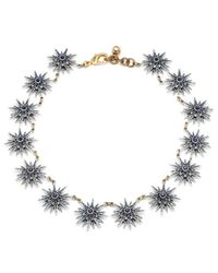 Lulu Frost | Radiant Necklace - Blue | Lyst