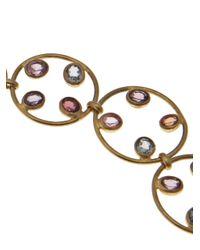 Marie-hélène De Taillac - Metallic Hoop Necklace - Lyst