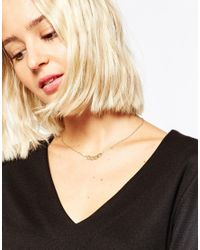 SELECTED | Metallic Majse Necklace | Lyst