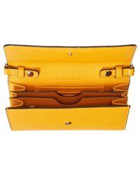 MICHAEL Michael Kors - Yellow Jet Set Travel Large Phone Crossbody - Lyst