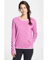Bench - Purple 'Groundcrew' Shirt - Lyst