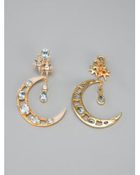 Percossi Papi - Metallic Crescent Earrings - Lyst