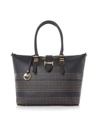 Dune | Black Deannah Studded Slouch Shopper | Lyst