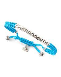 Lagos - Blue Macrame Caviar Bracelet Turquoise - Lyst