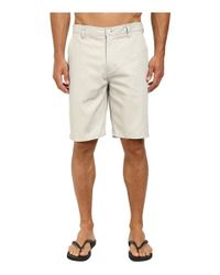 Rip Curl Gray Epic Stretch Chino Walkshorts for men