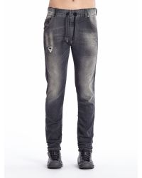 DIESEL - Black Krooley Joggjeans 0835B for Men - Lyst
