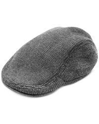 Tommy Hilfiger - Gray Short-Brim Ivy Hat for Men - Lyst