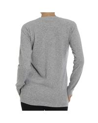 Love Moschino | Gray Sweater | Lyst