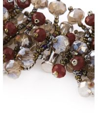 Night Market - Brown 'Pomegranate Snow Grape' Necklace - Lyst