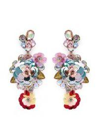 J.Crew - Multicolor Blooming Sequin Paillette Earrings - Lyst