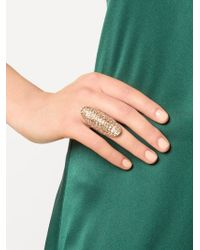 Venyx | Metallic 'lady Gator' Ring | Lyst