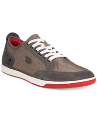 DIESEL | Gray Eastcop Pits Sneakers for Men | Lyst