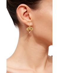 Annette Ferdinandsen - Metallic Orchid Earrings - Lyst