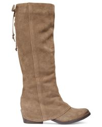Naughty Monkey | Brown Arctic Solstice Cuffed Boots | Lyst