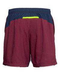 H&M - Yellow Running Shorts for Men - Lyst