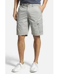 Jeremiah | Metallic 'maximus' Twill Cargo Shorts for Men | Lyst