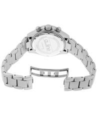 A_line - Metallic Amore Chronograph Aluminum Silver-tone Dial Aluminum - Lyst