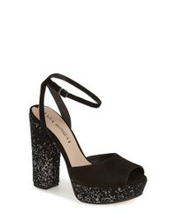 Via Spiga | Black Varsha Platform Sandals | Lyst