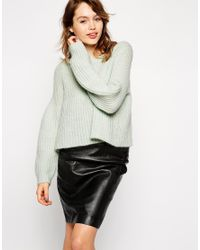ASOS - Green Co-ord Sweater With Flared Sleeve - Lyst