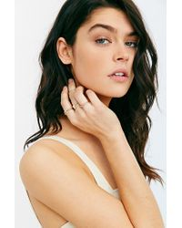 Urban Outfitters | Metallic Gilded Cities Ring Set | Lyst