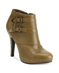 Me Too | Natural Lennon Booties | Lyst