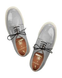 Purified - Gray + George Cox Patent-Leather Creepers - Lyst