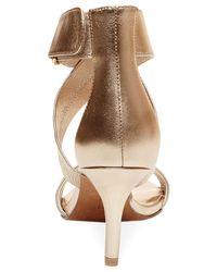 Steven by Steve Madden | Metallic Vaale Dress Sandals | Lyst