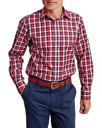 Thomas Pink | Red Murray Check Classic Fit Shirt for Men | Lyst