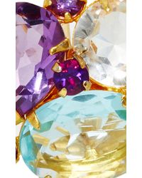 Bounkit | Purple Quartz And Amethyst Earrings | Lyst