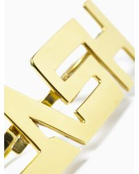 "KTZ - Metallic ""clash"" Ring for Men - Lyst"