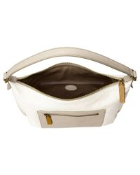 Fossil - White Vickery Shoulder Bag - Lyst