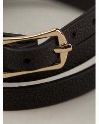 McQ | Black Buckled Bracelet | Lyst