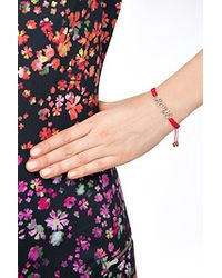 Juicy Couture - Pink Love Friendship Bracelet - Red - Lyst