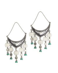 Jenny Bird - Blue August Moon Earrings - Lyst