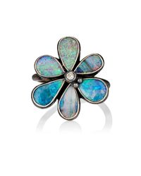 Judy Geib - Blue Wildflower Ring - Lyst