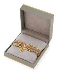 Astley Clarke - Metallic Golden Opportunities Charm Bracelets - Lyst