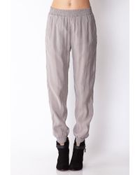 Forever 21 - Gray Sophisticated Joggers - Lyst