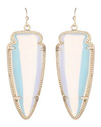 Kendra Scott | Blue Skylar Earrings | Lyst