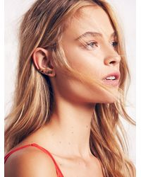 Free People - Metallic Katie Diamond Womens Kora Ear Climbers - Lyst